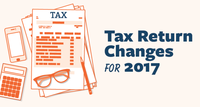 the irs tax return changes 2017